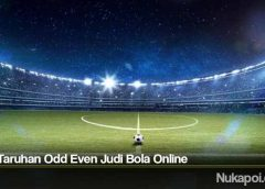Tips Taruhan Odd Even Judi Bola Online